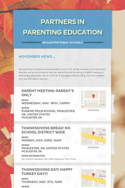 Partners in Parenting Education