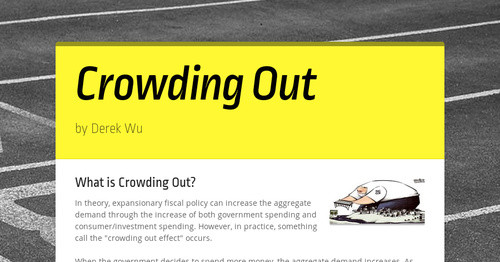What is Crowding Out?