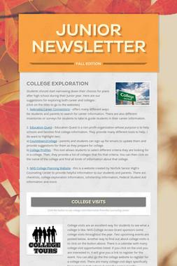 Junior Newsletter