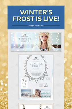 Winter's Frost is LIVE!