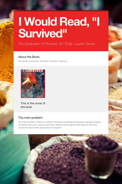 "I Would Read, ""I Survived"""