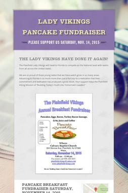 Lady Vikings Pancake Fundraiser