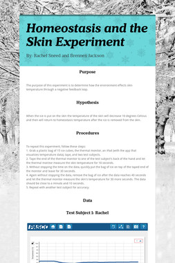 Homeostasis and the Skin Experiment