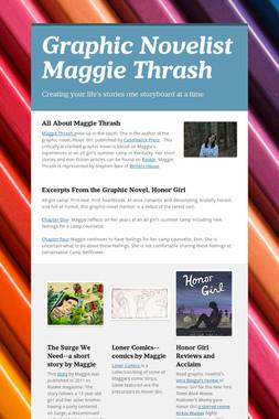 Graphic Novelist Maggie Thrash