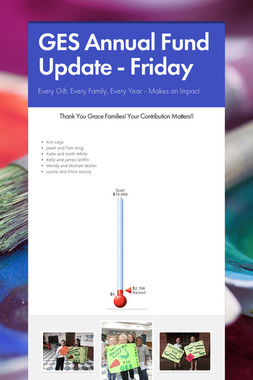 GES Annual Fund Update - Friday