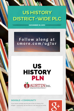 US History District-Wide PLC