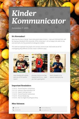 Kinder Kommunicator