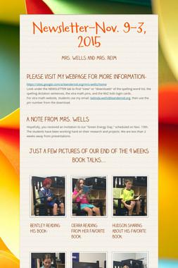 Newsletter-Nov. 9-3, 2015