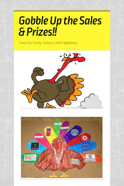 Gobble Up the Sales & Prizes!!