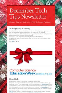 December Tech Tips Newsletter
