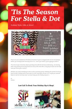 'Tis The Season For Stella & Dot