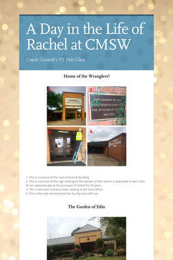 A Day in the Life of Rachel at CMSW