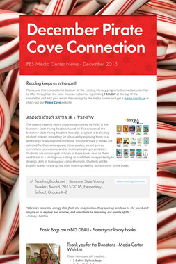 December Pirate Cove Connection
