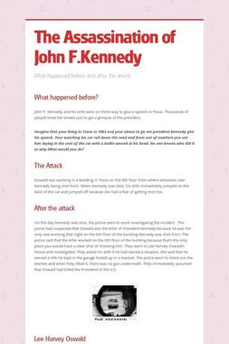 The Assassination of John F.Kennedy