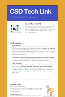 CSD Tech Link