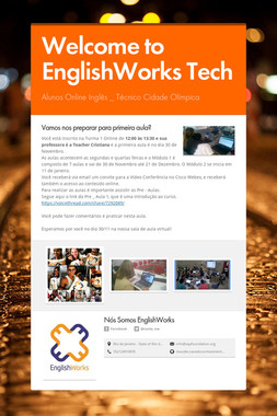 Welcome to EnglishWorks Tech