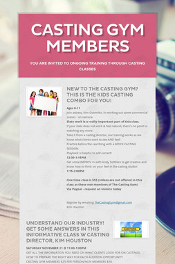 Casting Gym Members