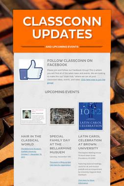 ClassConn Updates