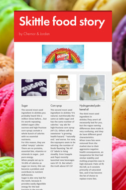 Skittle food story