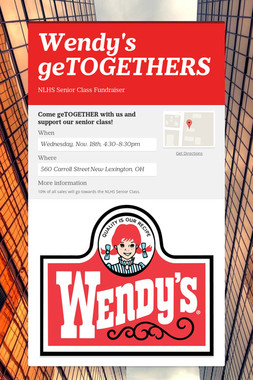 Wendy's geTOGETHERS