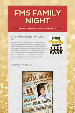 FMS Family Night