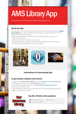 AMS Library App