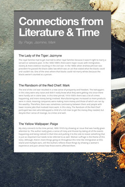 Connections from Literature & Time