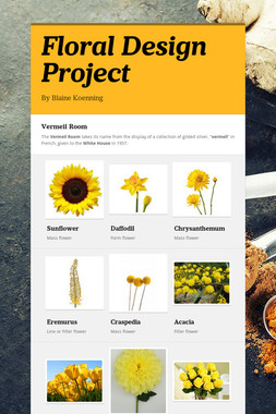 Floral Design Project