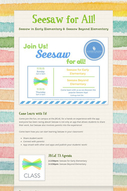 Seesaw for All!
