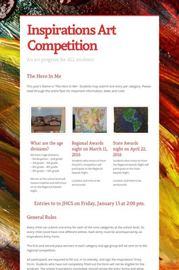 Inspirations Art Competition