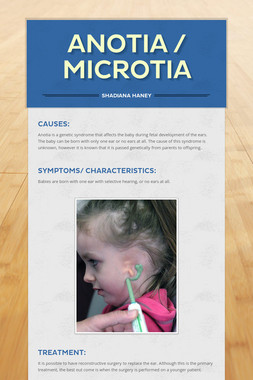 Anotia / Microtia