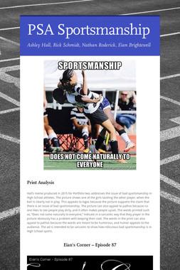 PSA Sportsmanship