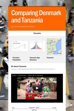 Comparing Denmark and Tanzania