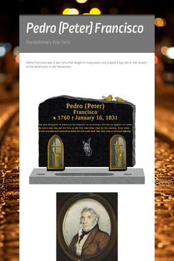 Pedro (Peter) Francisco