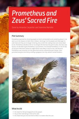 Prometheus and Zeus' Sacred Fire