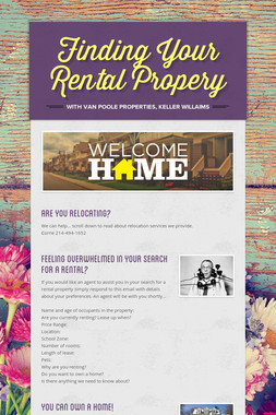 Finding Your Rental Propery