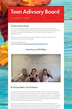 Teen Adivsory Board