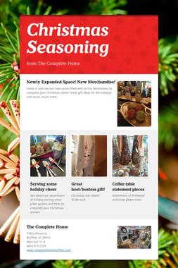Christmas Seasoning