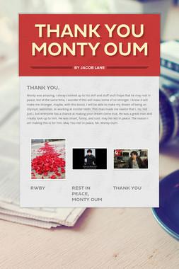 Thank you Monty Oum