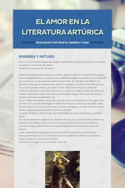 El amor en la literatura artúrica