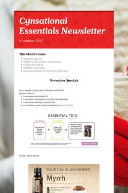Cynsational Essentials Newsletter