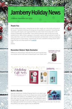 Jamberry Holiday News