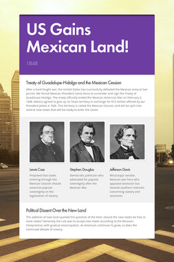US Gains Mexican Land!