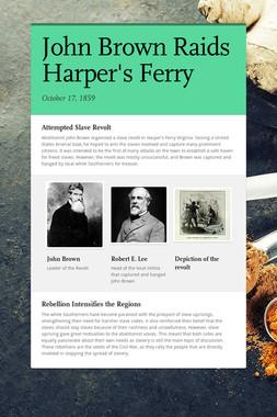 John Brown Raids Harper's Ferry