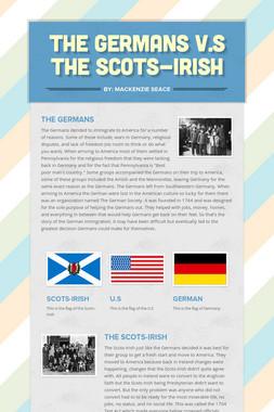The Germans v.s The Scots-Irish