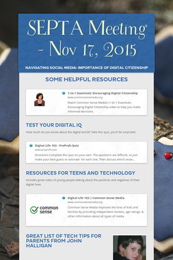 SEPTA Meeting - Nov 17, 2015