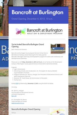 Bancroft at Burlington