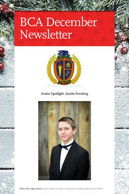 BCA December Newsletter