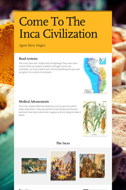 Come To The Inca Civilization