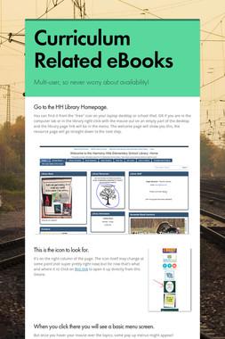 Curriculum Related eBooks